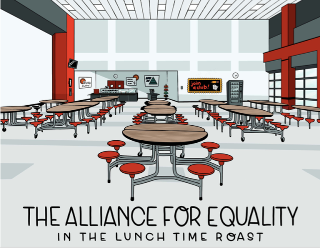 The Alliance For Equality in the Lunch Time Roast