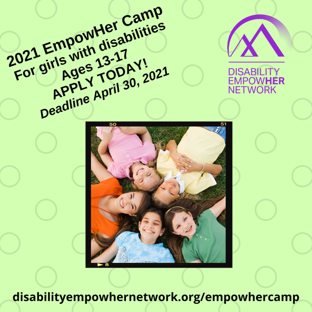 EmpowHer Camp Flyer
